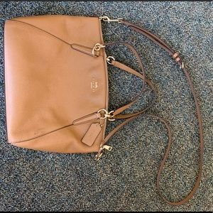 Authentic Coach Crossbody with Handles